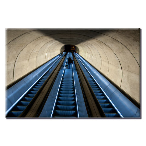 Dupont Circle Escalators Magnet