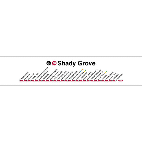 Red (Shady Grove) Poster