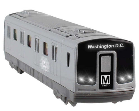 Metro Pullback Subway Car Toy