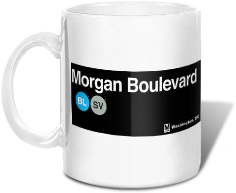 Morgan Blvd (Blue / Silver) Mug