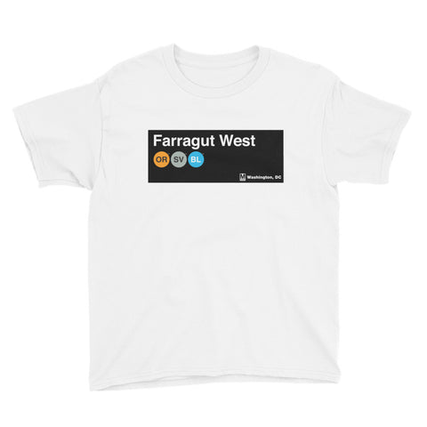 Farragut West Youth T-Shirt