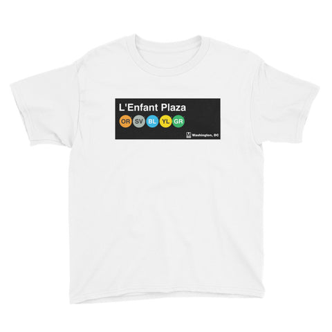L'Enfant Plaza Youth T-Shirt