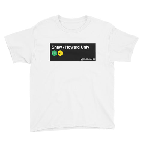 Shaw / Howard Univ Youth T-Shirt