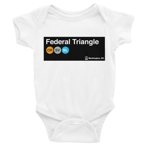Federal Triangle Romper
