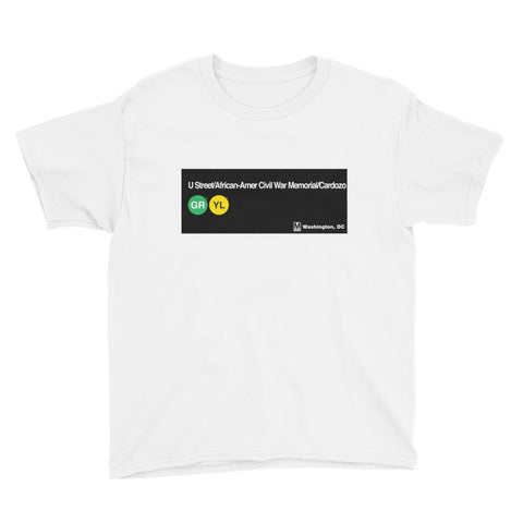 U St / African-Amer Civil War Memorial / Cardozo Youth T-Shirt