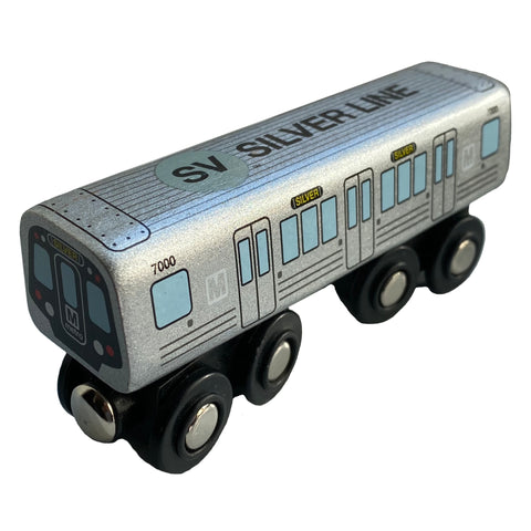 Silver Line Wooden Train (Pre Order)