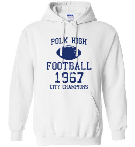 Polk High Football City Champions Hoodie