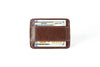 Fino Wallet - Dark Brown Leather