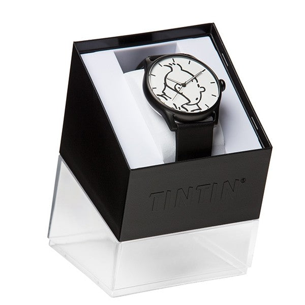 WATCH: Classic - Tintin White/Black L