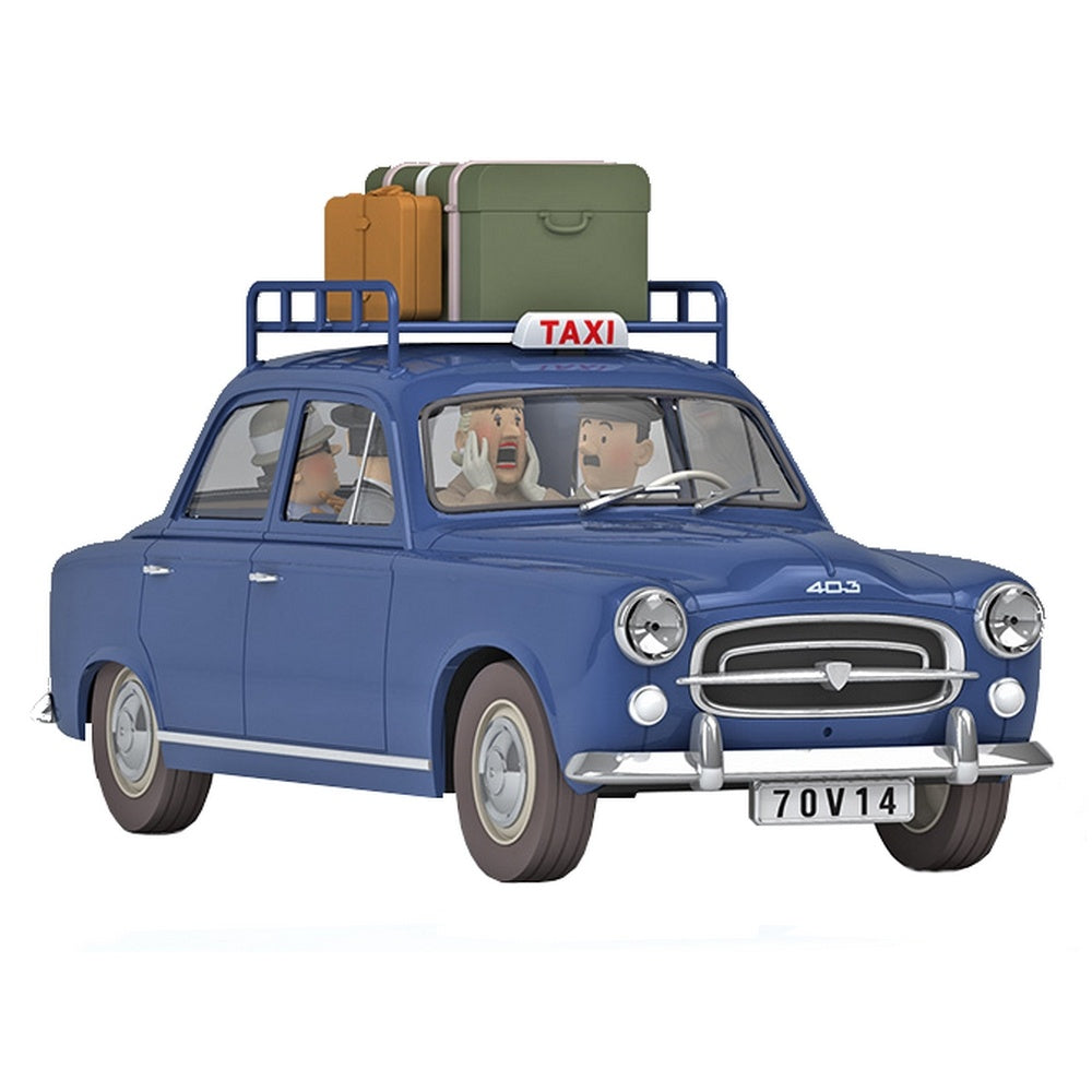 TINTIN CARS: #37 - The Marlinspike Taxi (1/24 Scale)