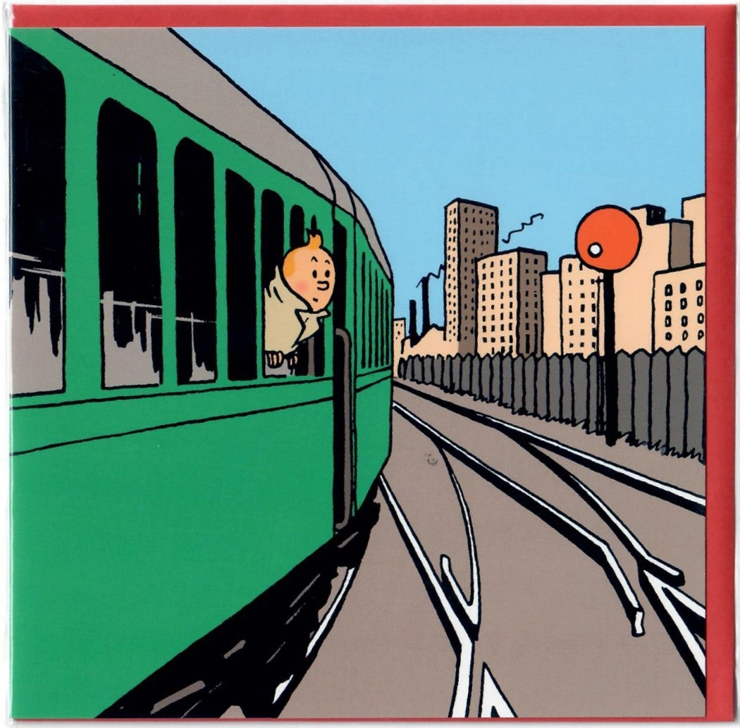 GREETING CARDS: Trains #1