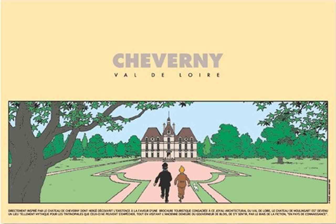 POSTER: Exhibition - Cheverny