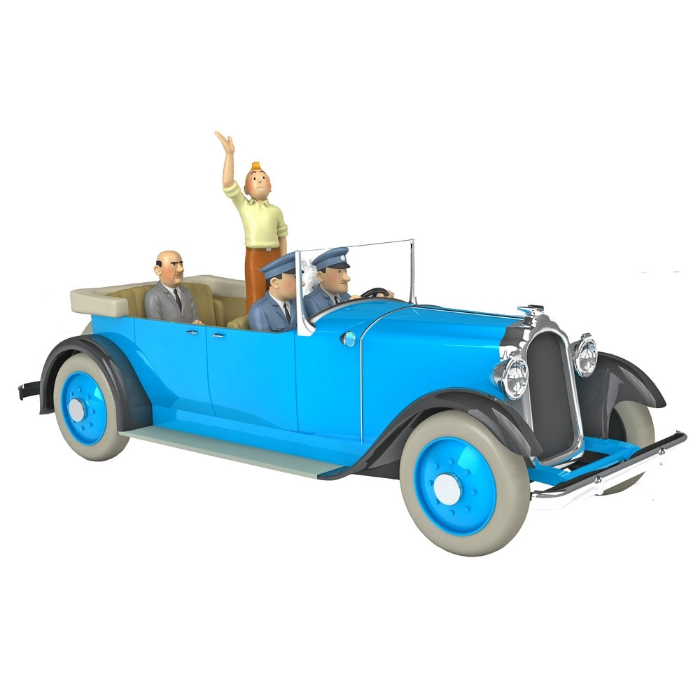 TINTIN CARS: #19 - Chrysler Imperial Parade (1/24 Scale)