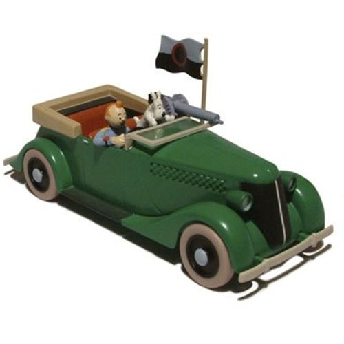 TINTIN CARS: Armoured Car (Broken Ear)