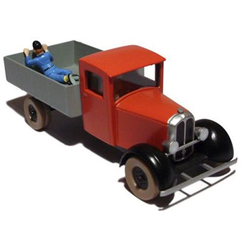 TINTIN CARS: Blue Lotus Red Truck