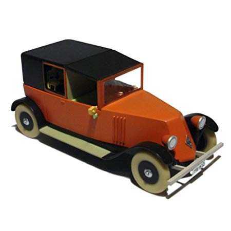 TINTIN CARS: Red Taxi Renault