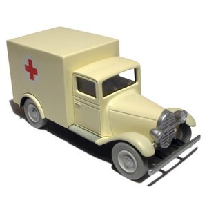 Tintin Cars: Ambulance of the Asylum