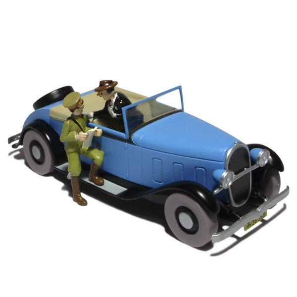 TINTIN CARS: Ford Gibbons