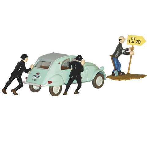 TINTIN TRANSPORTS - 2 CV DES DUPONDT #1 *priced reduced*