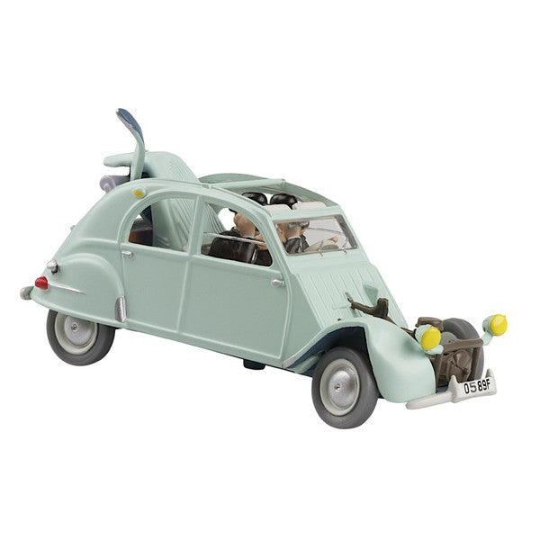 TINTIN CARS 2: The 2CV Broken