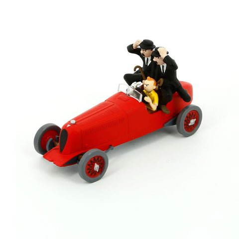 Tintin Cars 2: The Red Bolide Amilcar #8