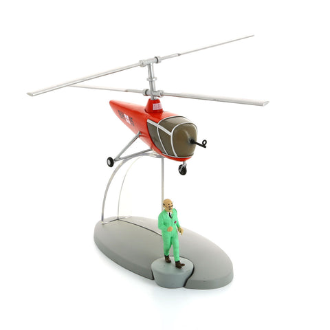 AIRCRAFT TINTIN #30: SPRODJ HELICOPTER