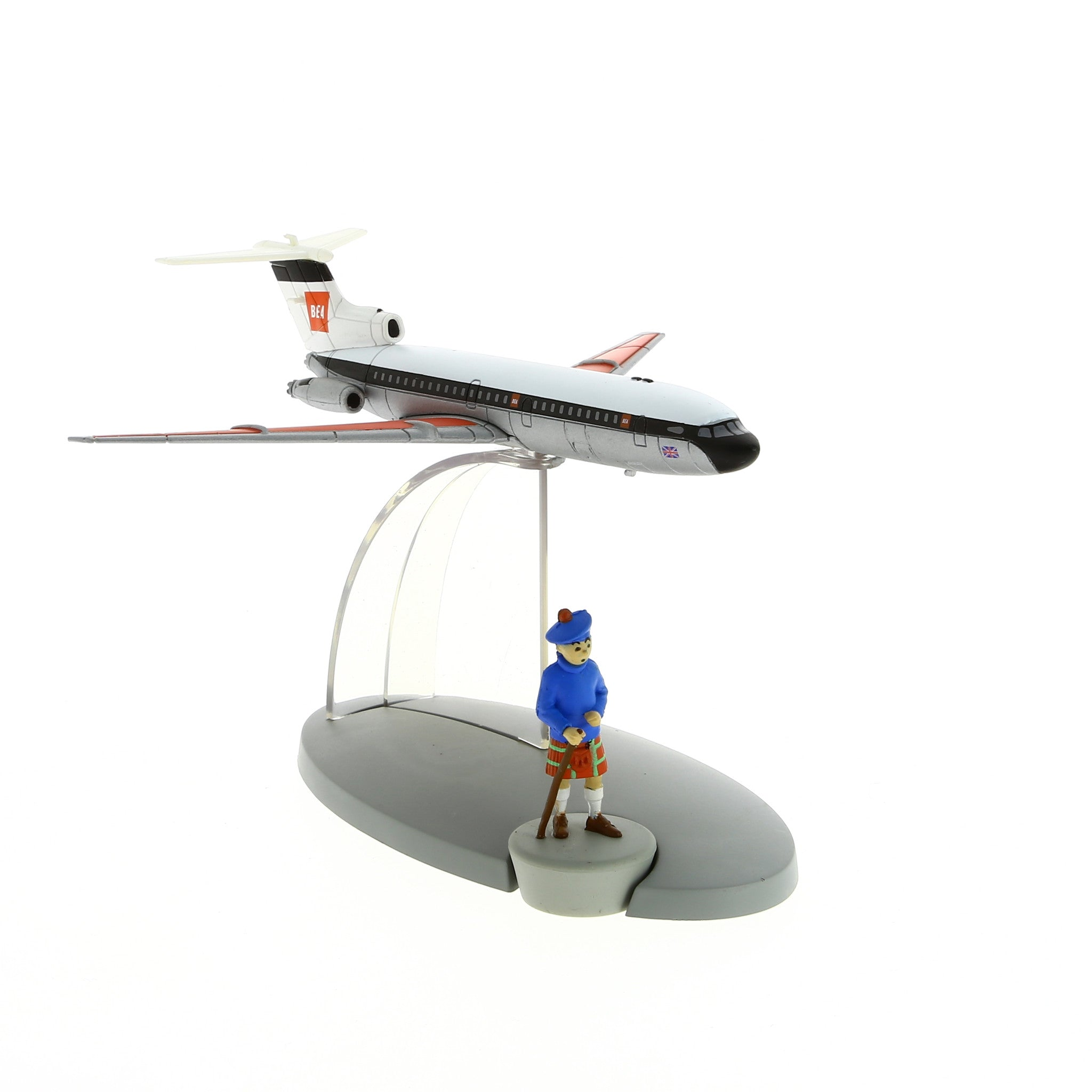 AIRCRAFT TINTIN: British European Airways Plane #39