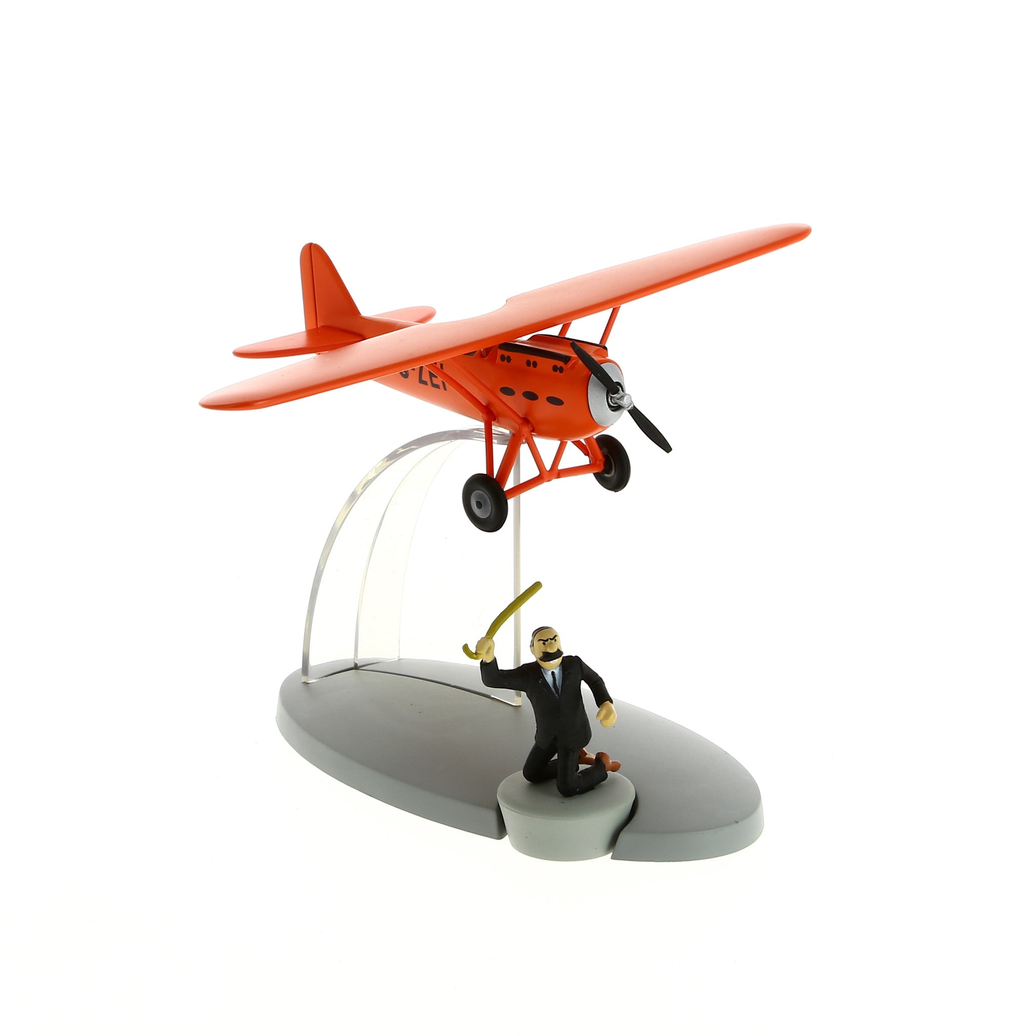 AIRCRAFT TINTIN: Muller's Red Plane #40