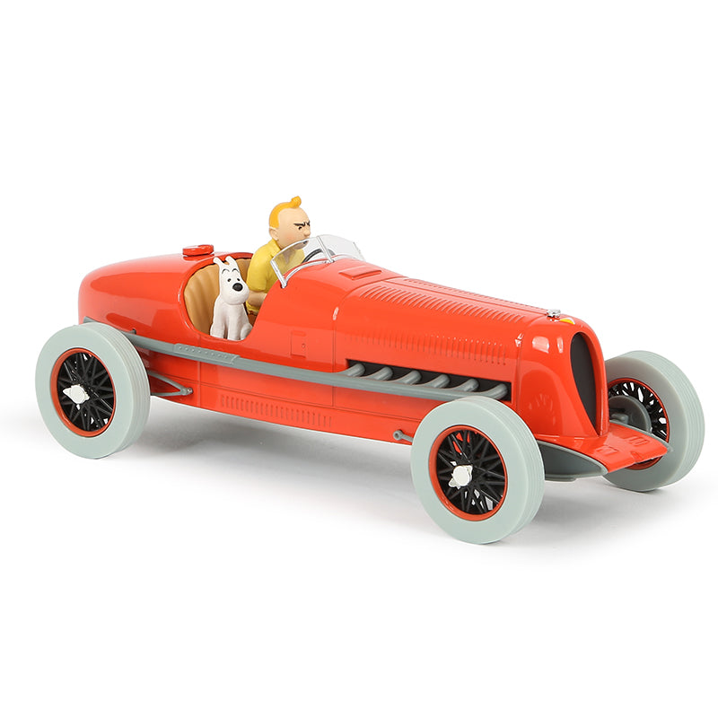 TINTIN CARS: #01 - Red Racing Car (1/24 Scale)