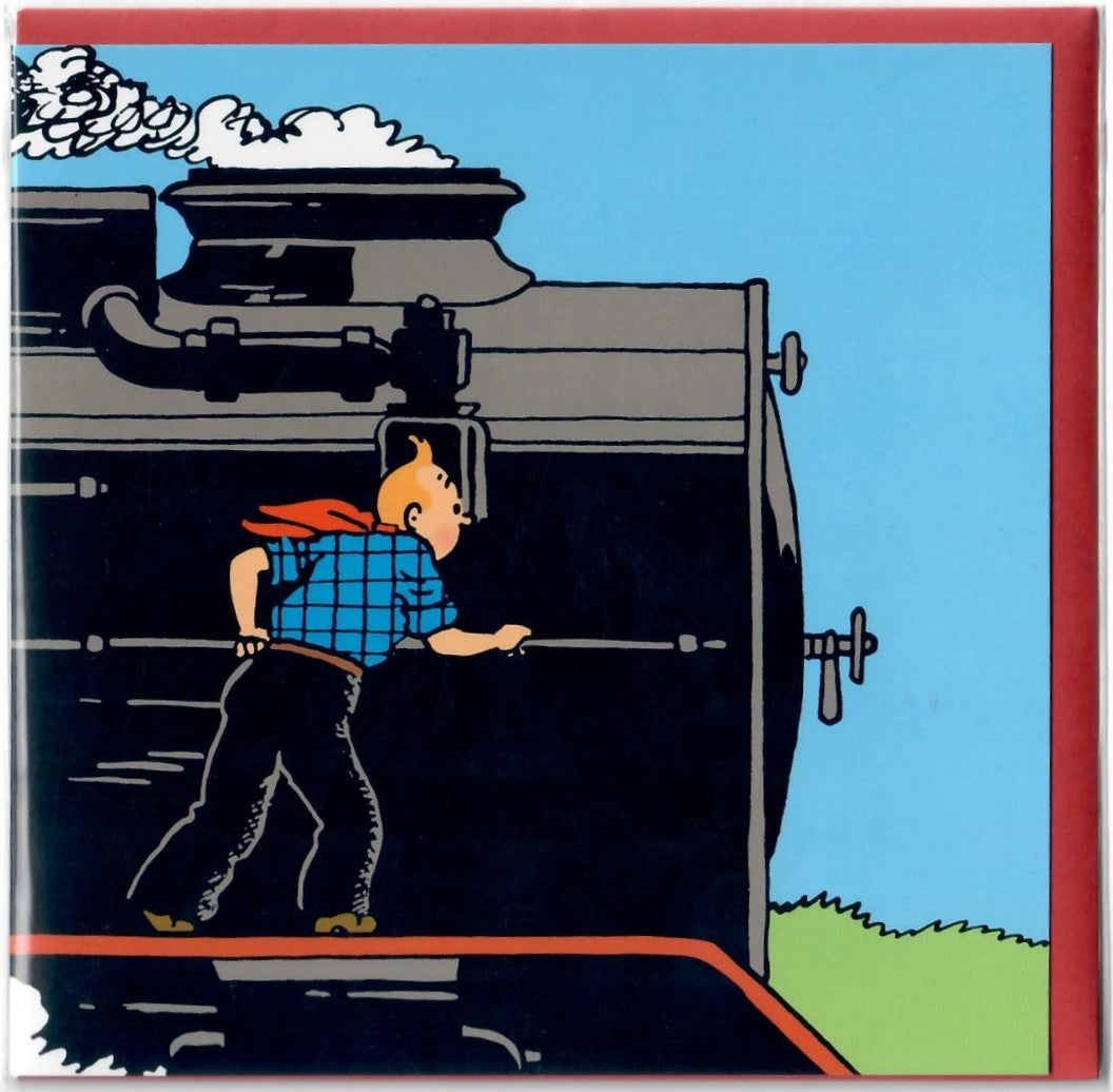GREETING CARDS: Trains #2