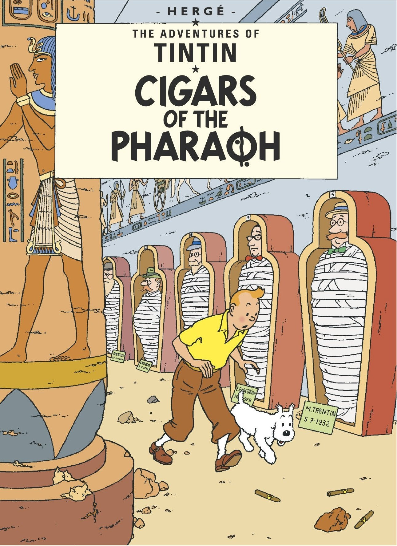 ENG COVER POSTCARD: Cigars of the Pharaoh
