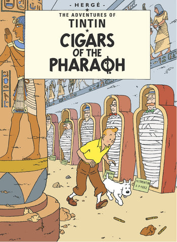 ENGLISH COVER POSTCARD: CIGARS OF THE PHARAOH