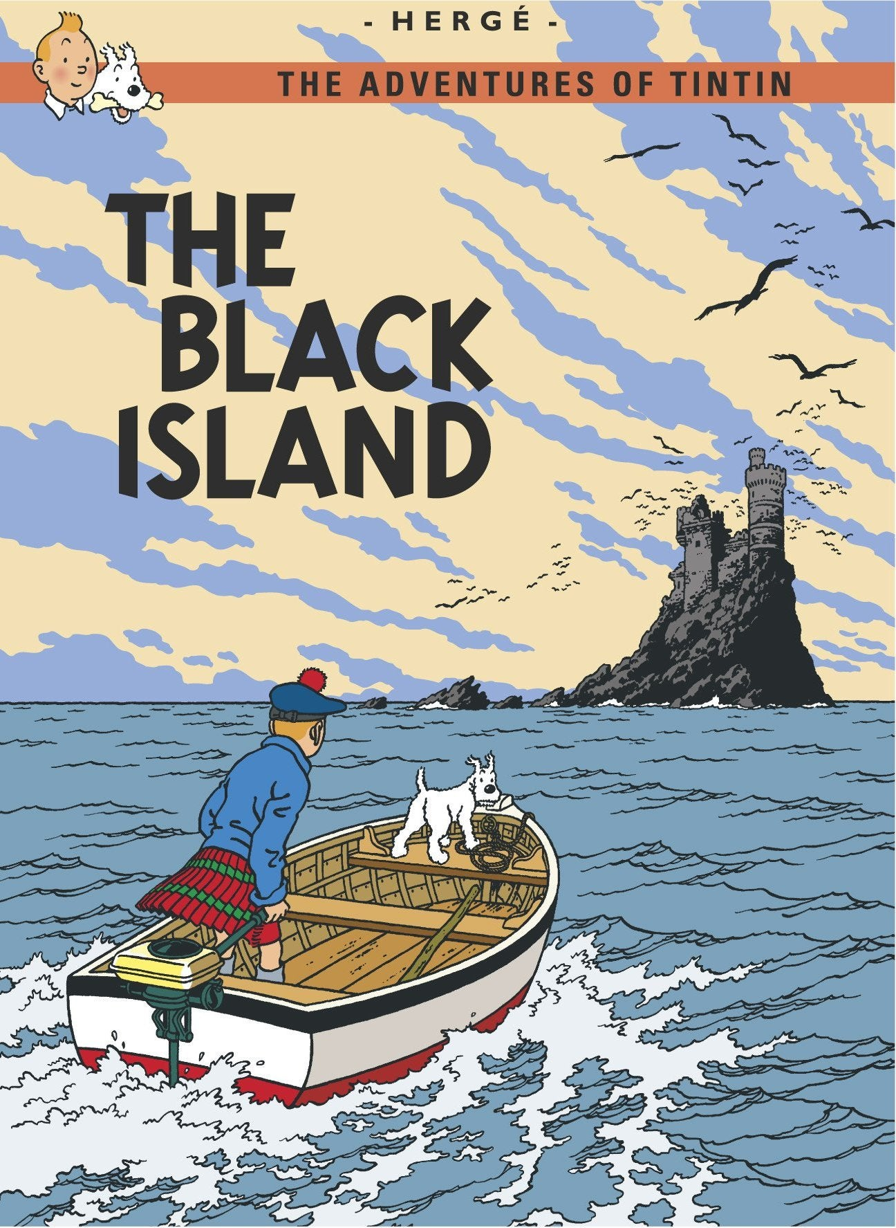 ENG COVER POSTCARD: The Black Island