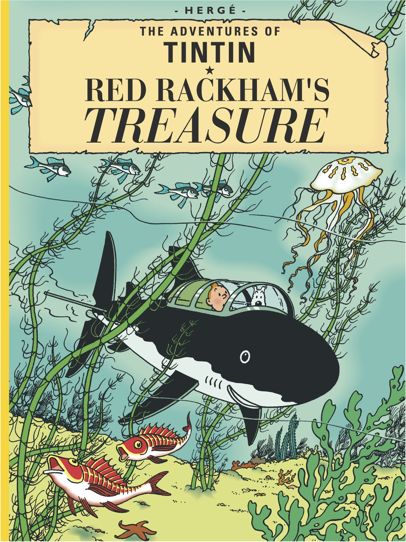ENGLISH ALBUM #12: Red Rackham's Treasure