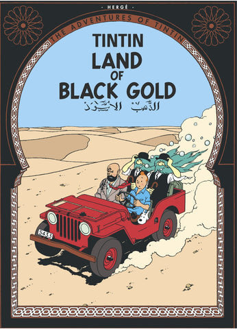 ENGLISH COVER POSTCARD: LAND OF BLACK GOLD