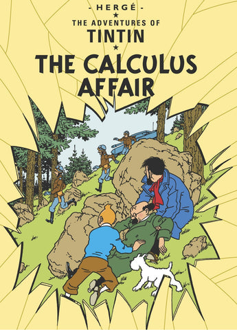 ENG COVER POSTCARD: Calculus Affair