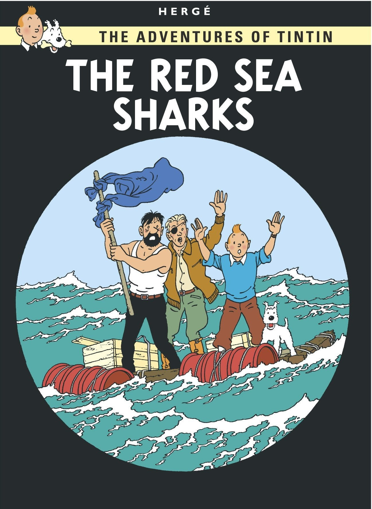 ENG COVER POSTCARD: Red Sea Sharks