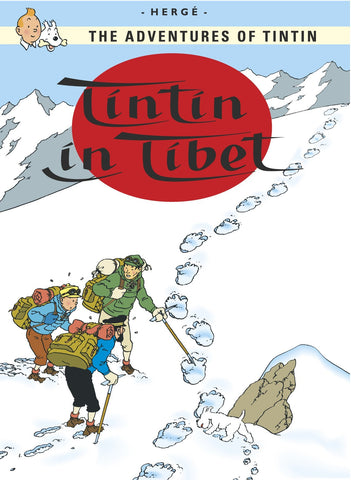 ENGLISH COVER POSTCARD: TINTIN IN TIBET