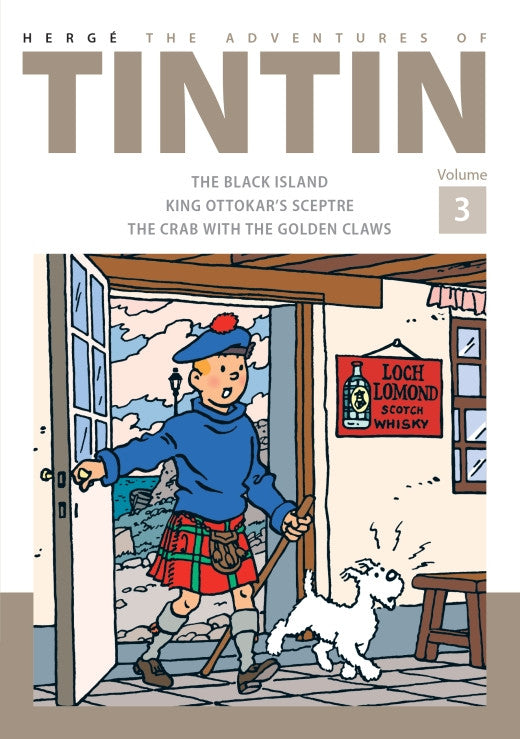 TINTIN COMICS: Collector's Volume 3