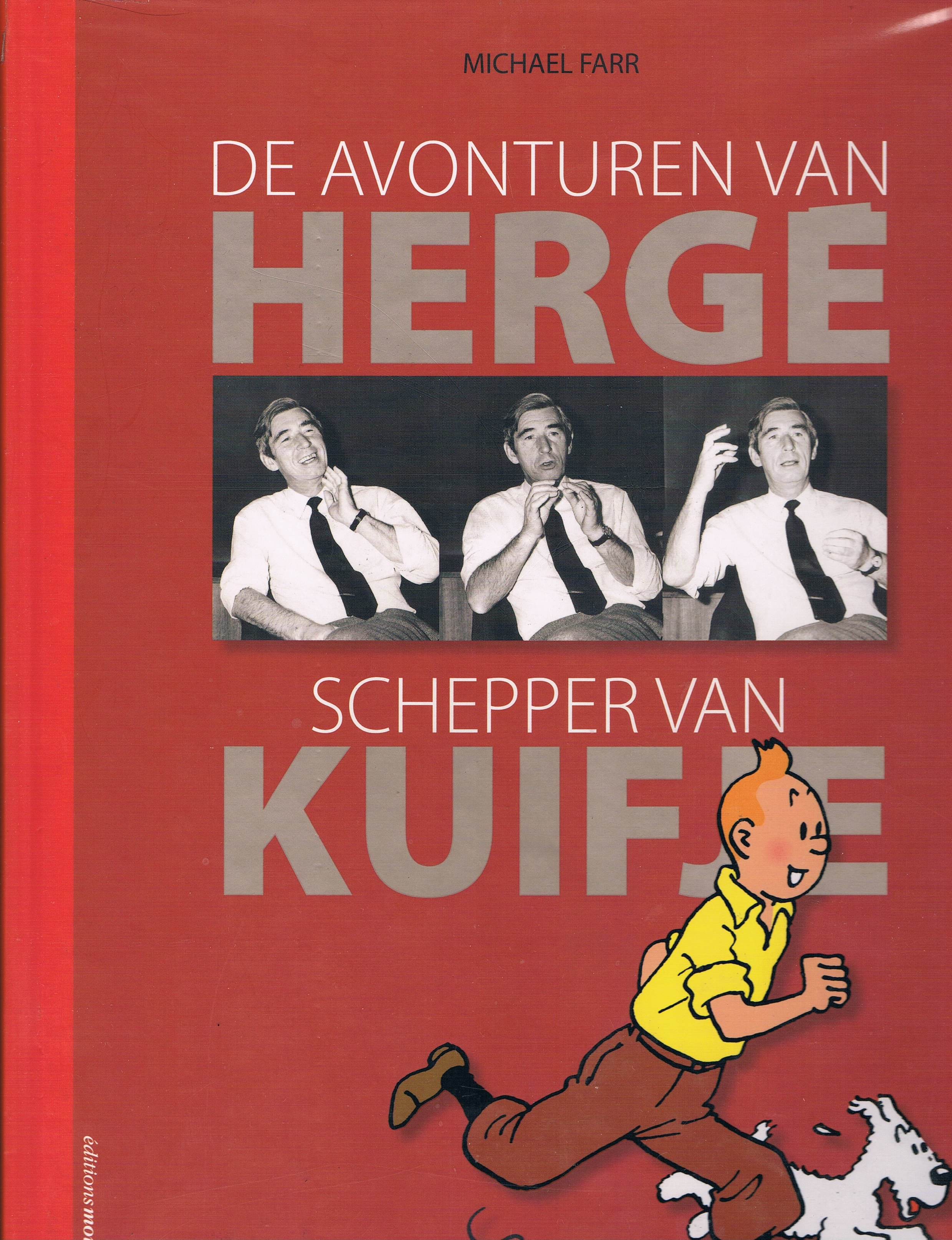 BOOK: Adventures of Herge (Dutch)