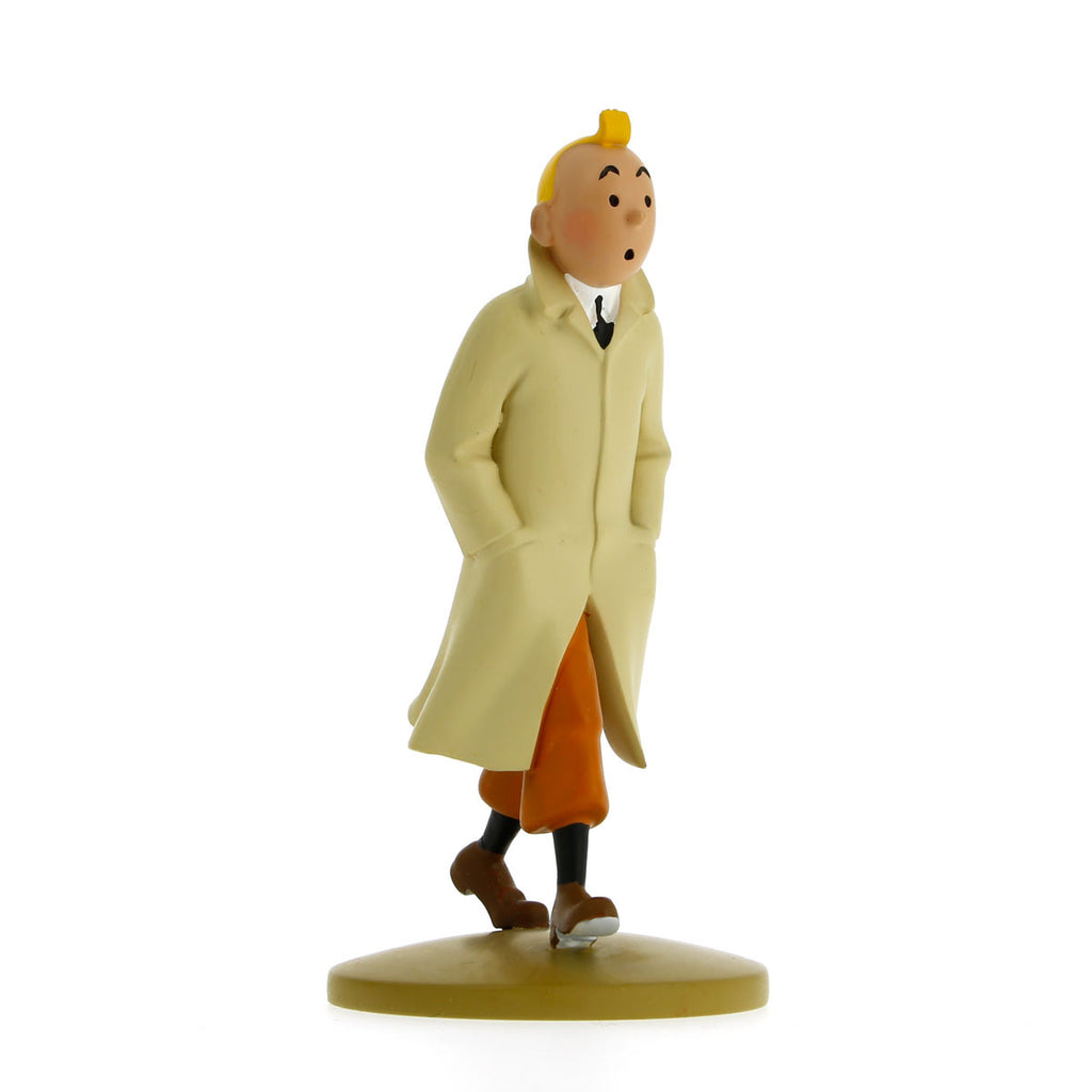 FIGURINE RESIN: Tintin Trench