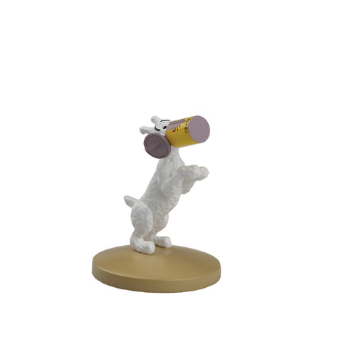 FIGURINE RESINE: Snowy In A Can