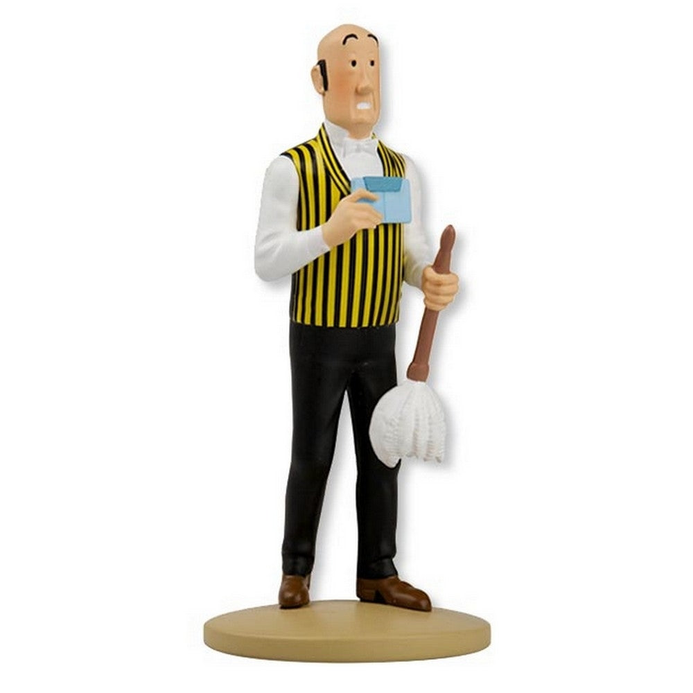 FIGURINE RESINE: Nestor With Feather Duster