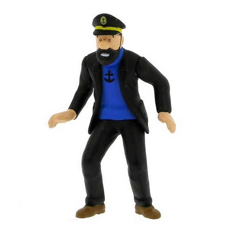 PVC FIGURINE: Haddock in the Rally (B)