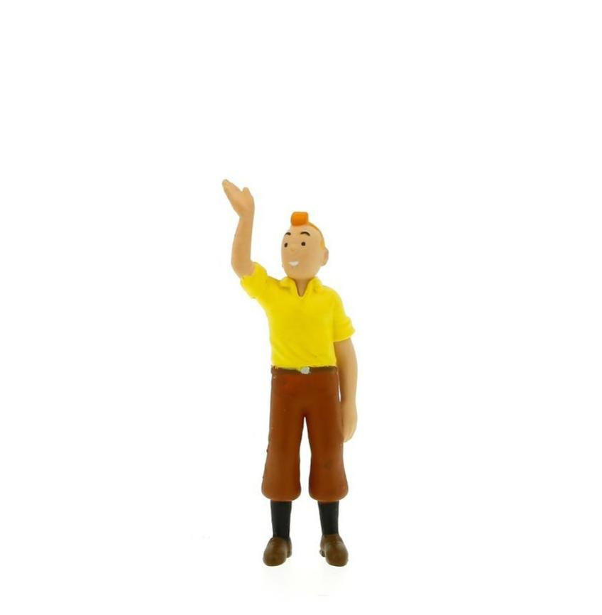 PVC FIGURINE: Tintin Welcomes (A)