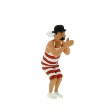 PVC FIGURINE: Thomson Bather Curled Moustache (A)