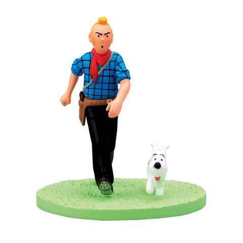 BOX-SCENE TINTIN COW-BOY