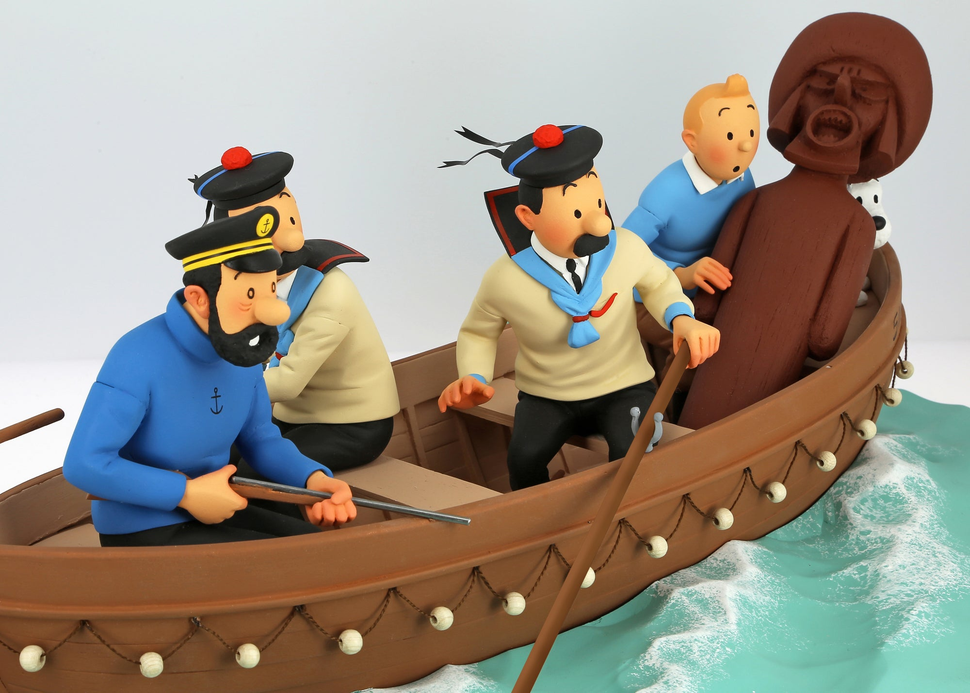 RESIN COLLECTIBLE: Sirius Jolly Boat