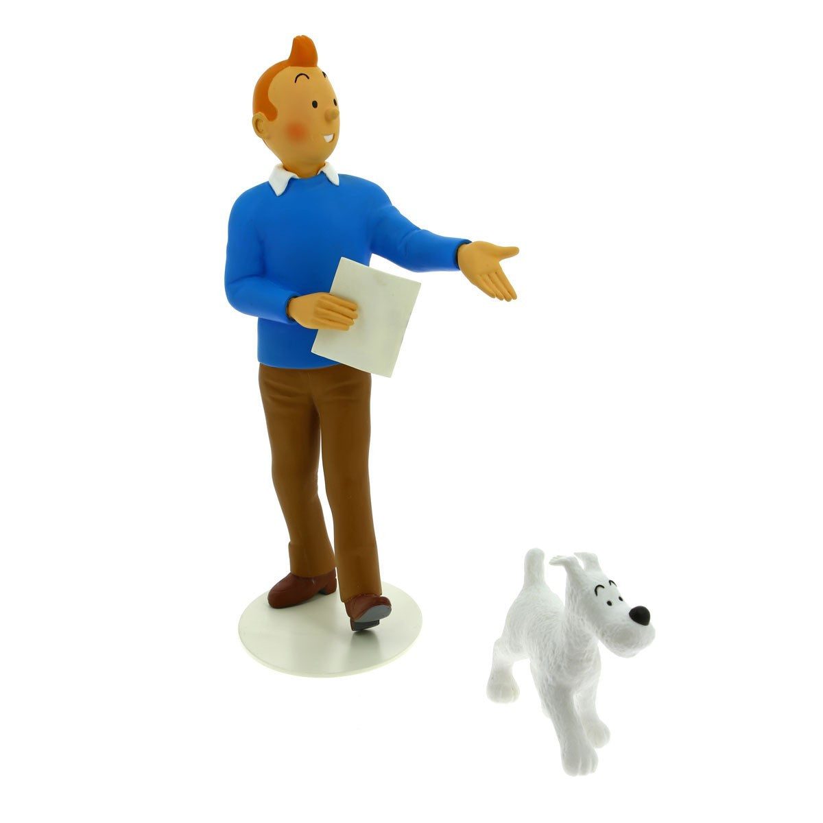 RESIN COLLECTIBLE: Museum Collection - Tintin & Snowy