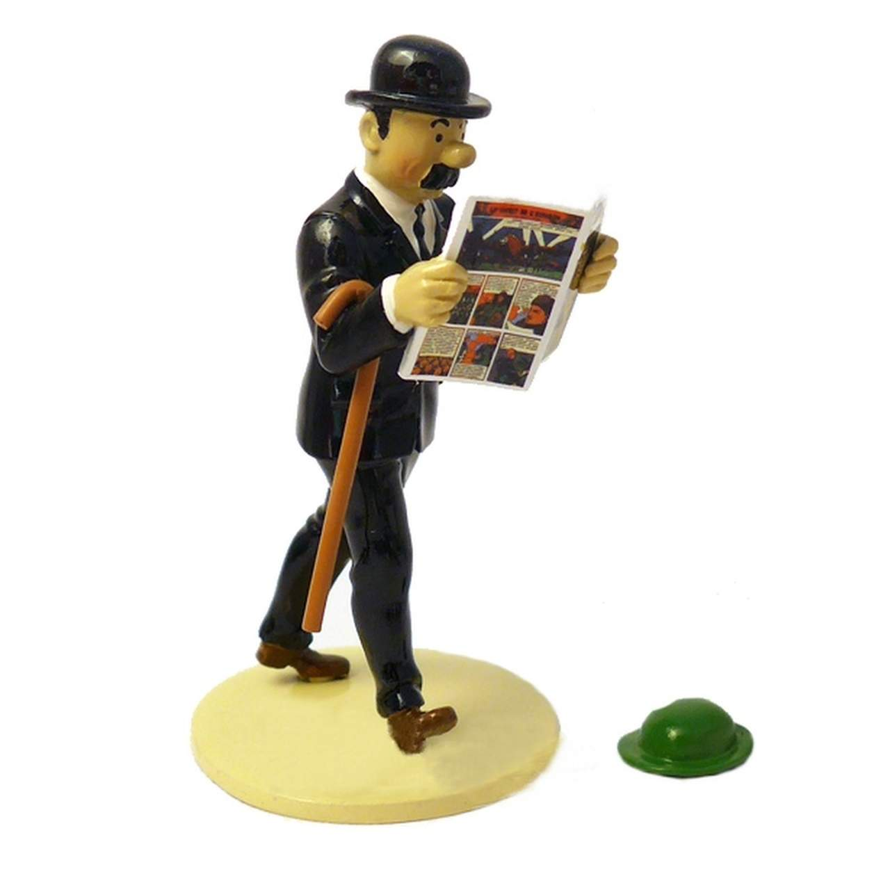 LEAD FIGURINE: Lisez Collection - Thompson + Hat